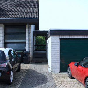 Eingangsbereich, Stellplätze, Garage