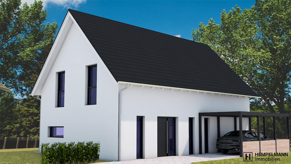 Neubau Einfamilienhaus in bevorzugter, ruhiger Wohnlage – Lortzingstr. – 32791 Lage